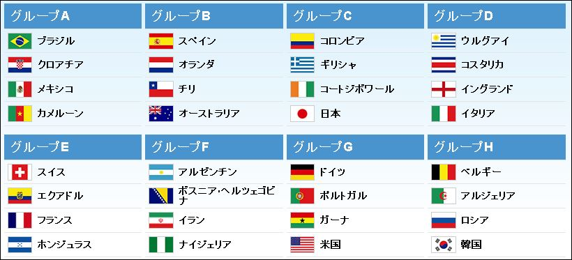 W杯】日本VSコロンビア戦はいつ...